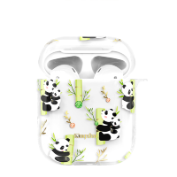 Чехол Kingxbar Adorkable для Apple Airpods Panda